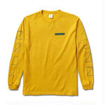 NUMBERS EDITION ASSEMBLY L/S TSHIRT MUSTARD YELLOW