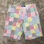 Polo Ralph Lauren Seersucker Patchwork  Shorts