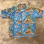 Pineapple Connection Rayon Aloha Shirt