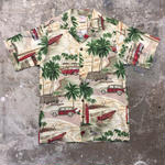 90's Go Barefoot Aloha Shirt