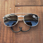 Dead stock pilot sunglasses(Black)1980's