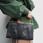 shoulder square coin bag
