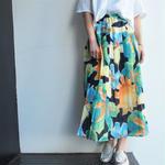 Austria print skirt