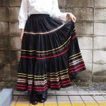 Europe Black  long skirt