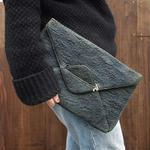 Euro vintage clutch bag