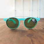 Dead stock  Made in France Clip on 2way Sunglasses(Green)