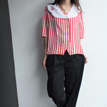 Made in Finland RED Stripe  shirts