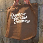 LITTLE CALIFORNIA|rainbow grocery tote bag