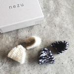 nezu | ウールトライアングルピアス