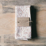 JENNY PENNYWOOD NAPKINS - Shorthand Golden/blush