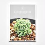 STRAIGHT #01   UNDERGROUNDS -CAPE BULB BOOK- / FUMIO FUJIKAWA