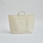 "StitchandSew / tote bag  ""white"" ( LARGE )"