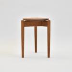 Round Stool / Nara Basic brown