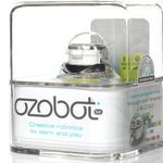 【国内正規品-保証付き-】Ozobot(オゾボット) 2.0 Bit 子ども向けプログラミング教材ロボット(クリスタルホワイト)