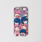 【メンヘラチャン】iphone6ケース(集合)