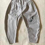 【予約商品】【 folk made 2017AW】#06 embroidery pants 刺繍パンツ / グレー