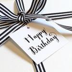 メッセージタグ(Happy Birthday)