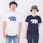 『BEAR』コットン Tシャツ