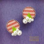 Maru-Bubble  ear  clips
