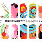LAQA&CO ネイルハグズ(ネイルシール)JENNIFER SANCHEZ LQA22-6
