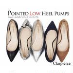 Clarpierce -クラーピアス-  ポインテッドフラットシューズ