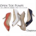 セール クラーピアス 【Clar pierce】 オープントゥパンプス