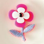 オハナピアス(ピンク×ホワイト)