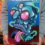 【原画】Monster Canvas 2016 : SMOKING DOPE SLIME