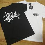 ステューシー人気トップス 半袖Tシャツ タグ付きロゴTシャツ