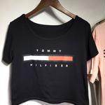 人気新品トミーヒルフィガー Tommy Hilfiger 半袖Tシャツ 黒  白