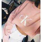 人気Calvin Klein /カルバンクライン 長袖Tシャツ トレーナースウェット 新品未使用