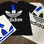 人気新品 アディダスロゴTシャツ 半袖 アウター タグ付きTシャツ 男女兼用