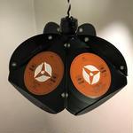 vinyl pentagon light