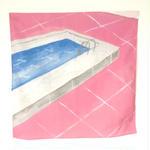 箕輪麻紀子|pool(ハンカチ)