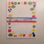 多田玲子|Lemon & Lime FRUITS PARLOUR(レターセット)