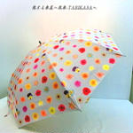 【準備中】【折りたたみと長傘】日傘 dot pink【Magic frame】  のコピー