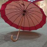 【製造終了】 傘専門店  通販  東京  雨傘  日傘  晴雨兼用  サビにくい  黒骨  旅傘  【16本骨  かのこ】