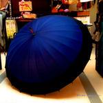 60㎝ 傘専門店 通販 東京 メンズ レディース 雨傘 サビにくい 旅傘【蛇の目 24本骨 紺】  のコピー