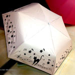 【晴雨兼用】傘専門店 通販 東京 折りたたみ傘 日傘 雨傘 晴雨兼用 遮光 遮熱 旅傘【シルバーコート A Cat White】