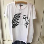 【 O.K 】 トランプ手刺繍Tシャツ JACK