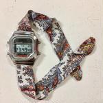 Rich Gone Broke ( silver digital Case- whtfro Liberty Strap)