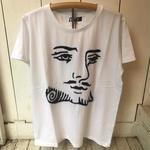 【 O.K 】 トランプ手刺繍Tシャツ  KING