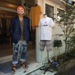 Children of the discordance   OLD PATCH DENIM PANTS