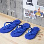 BACK STRAP BEACH SANDALS BLUE