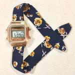 Rich Gone Broke ( gold digital Case- navy fro Liberty Strap)