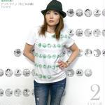 2weekセール☆ mn006tee -ドットライン(もじゃの森)Tシャツ - なかひらまい -G-( ストーリー コンセプトデザイン 絵本 コラボ )