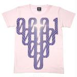 sp078ut - 000-one UネックTシャツ -G- 半袖 綿 グラフィック カジュアル アメカジ オリジナル プリント ピンク