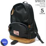spr131056-bk - マウンテン ナイロン リュック ( ブラック ) -Z-