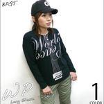 sp073lt - WP ロングスリーブTシャツ -G- ロンT 長袖 平和 カットソー ロックTシャツ ギター カジュアル