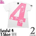 tgw024tee-wh - fateful 4 Tシャツ(ホワイト) - The Ghost Writer -G- ( UK NY パンク ロックTシャツ オリジナル )